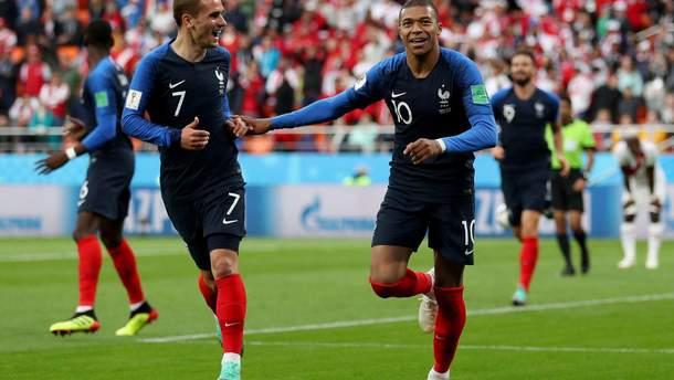 Франция – Перу результат матча