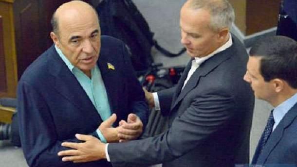 Вадим Рабинович и Нестор Шуфрич