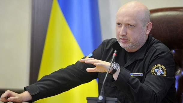 """Турчинов заявив, що Путін """"таранить"""" Європу задля розколу"""