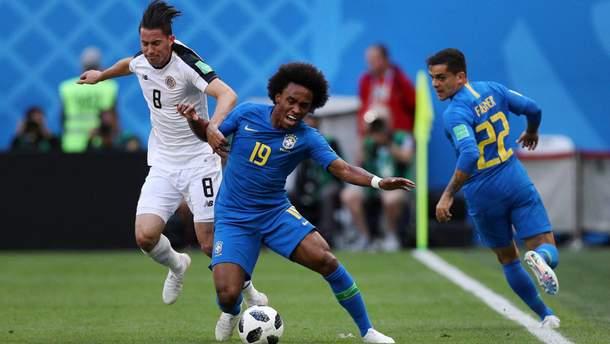 Бразилия – Коста-Рика результат матча