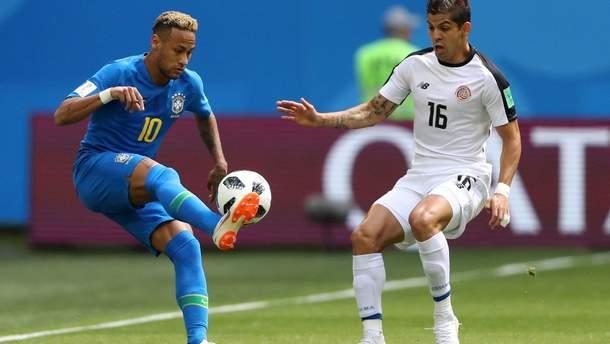 Бразилия – Коста-Рика голы матча Чемпионата мира 2018