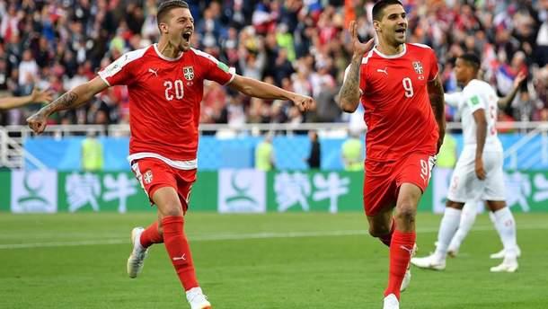 Сербия – Швейцария видео голов матча Чемпионата мира 2018