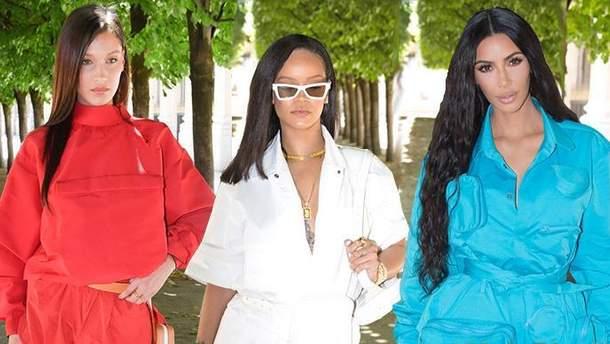 Голливудские звезды на показе новой коллекции Louis Vuitton