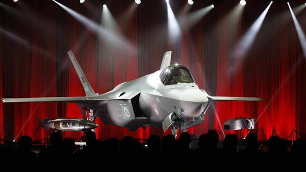 Винищувач-бомбардувальник F-35