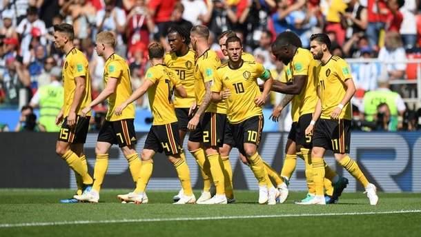Бельгия – Тунис видео голов матча ЧМ-2018