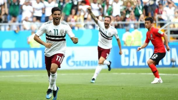 Південна Корея – Мексика відео голів матчу Чемпіонату світу 2018