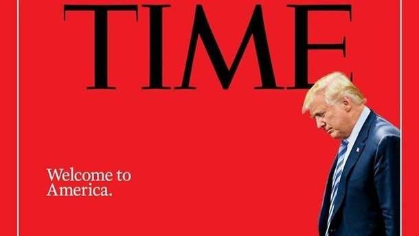 Обкладинка журналу TIME