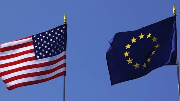 В дію вступили санкції Євросоюзу на товари з США
