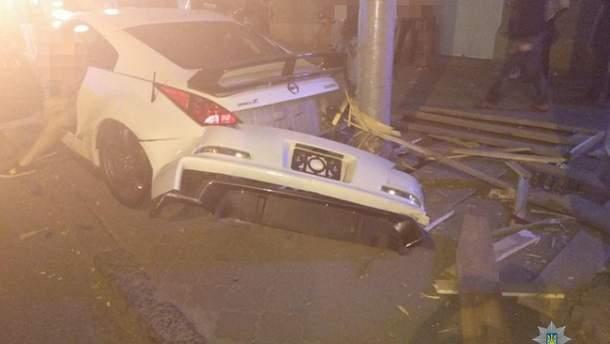 В центре Одессы столкнулись два автомобиля