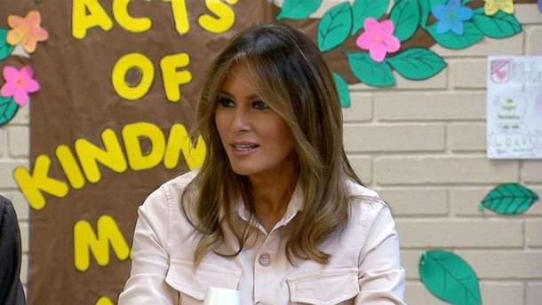 Всупереч скандалу Меланія Трамп провела зустріч в Техасі: фотофакт