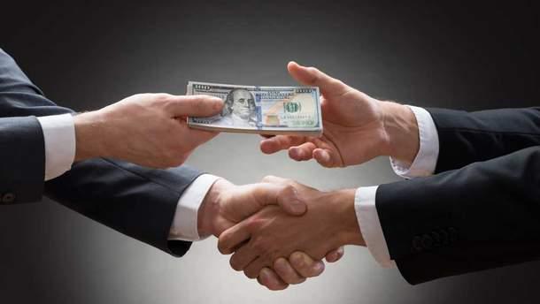 Рівень корупції в Україні перевищує світову майже втричі