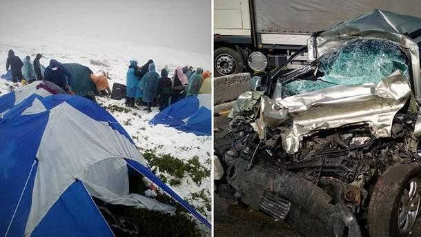 Главные новости 23 июня: Снег в Карпатах, жуткой смертью погиб помощник нардепа