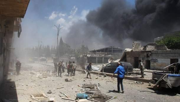 Авиаудары армии Асада