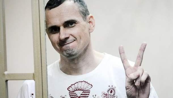 Олег Сенцов голодает 40-й день