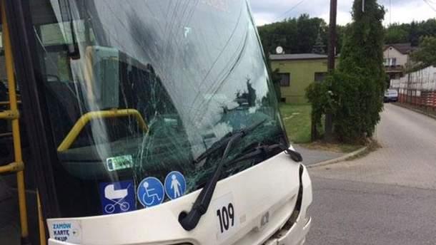 У Польщі зіткнулися два автобуси