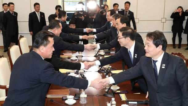 Переговоры между Южной Кореей и КНДР