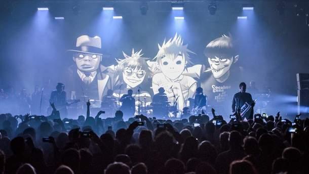 Легендарні Gorillaz і Massive Attack стануть хедлайнерами UPark Festival у Києві