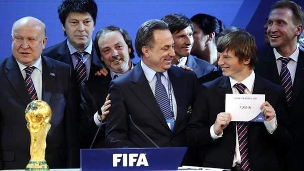 Чиновники ФИФА не осуждают Россию за ее международные преступления