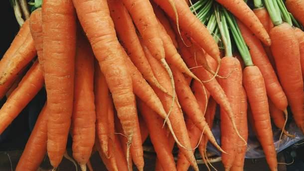 Ранняю моркву не можна їсти у  сирому вигляді