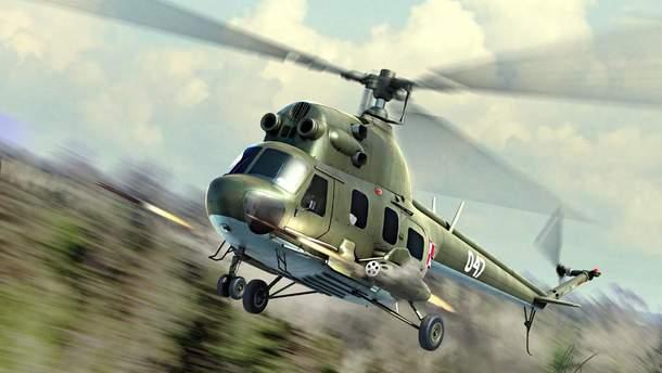 Пошуковий вертоліт російського МНС не зміг здійснити посадку поблизу місця аварії, тому в спецоперації беруть участь наземні рятувальники