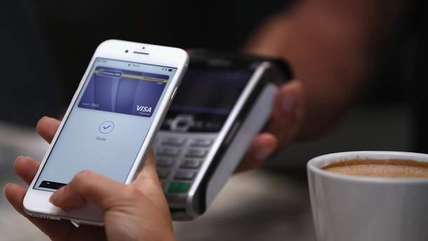 Более 2 миллионов устройств, которые поддерживают систему бесконтактных платежей Apple Pay, насчитывается в Украине