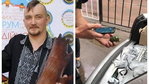 У Львові в авто активіста Спринського підклали гранату