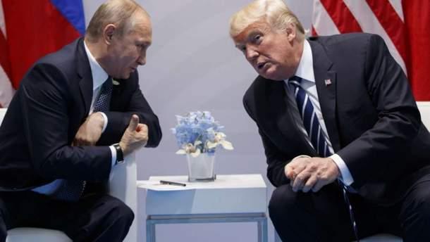 Трамп и Путин собираются встретиться в июле