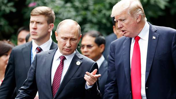 Зустріч Путіна і Трампа