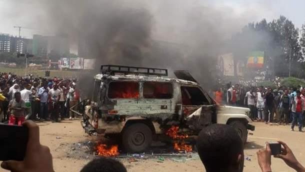Взрыв в Эфиопии
