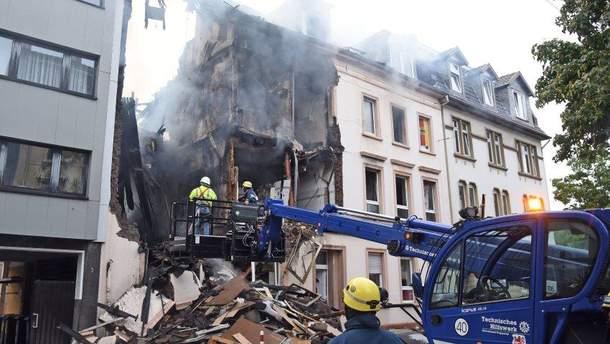 У Німеччині трапився вибух у житловому будинку