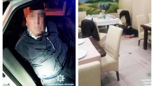 Стрельба в ресторане Киева: задержанный мужчина признался в совершении преступления