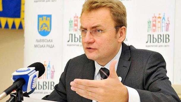 Городской председатель Львова Андрей Садовый