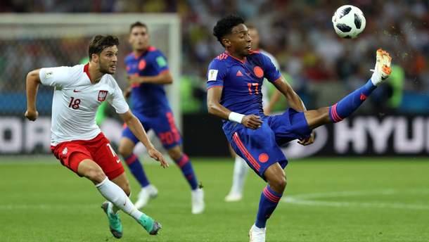 Колумбія розгромила Польщу на Чемпіонаті світу