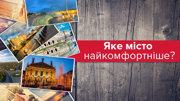 Харків став найкомфортнішим містом в Україні