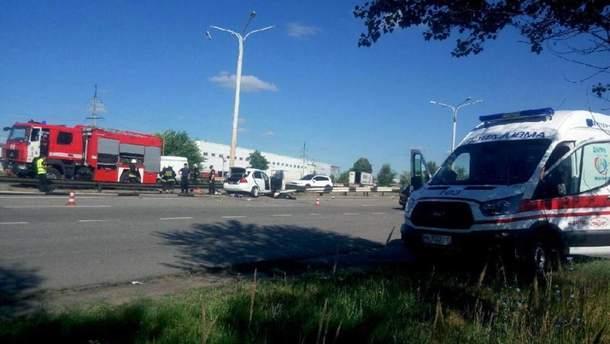 На Дніпропетровщині сталася смертельна ДТП