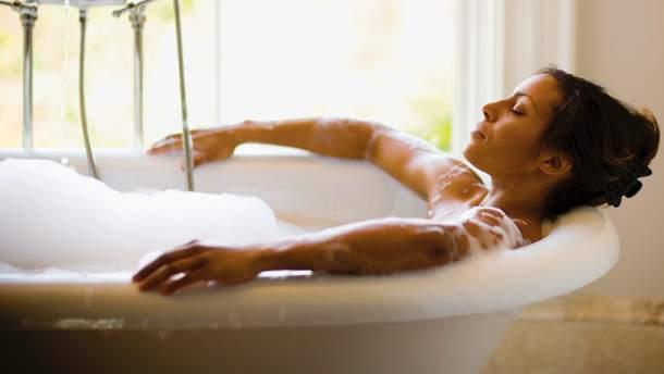 Горячая ванна защитит сердце и сосуды