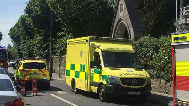 Автомобіль наїхав на пішоходів у Дубліні: є потерпілі