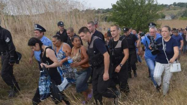 Бездіяльність поліції у справах ромів