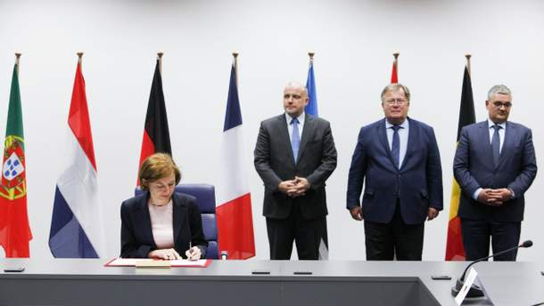 Министры обороны 9 стран-членов Евросоюза, включая Великобританию, подписали соглашение о создании Европейских сил военного реагирования