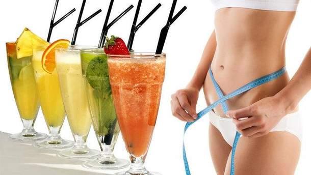 Домашние рецепты коктейлей для похудения