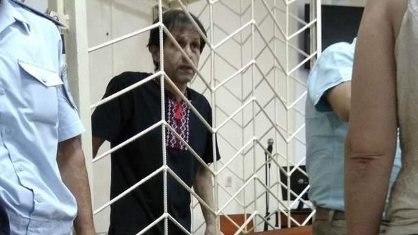 Владимир Балух голодает 99 дней