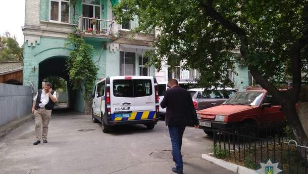 В центре Киева похитили человека