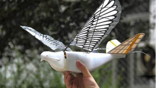 Дрони можуть імітувати рухи пташиного крила, плавно набирати висоту, а також робити різкі рухи в повітрі
