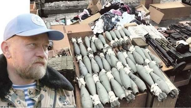 Эксперты определят разрушительную силу изъятого у Рубана оружия