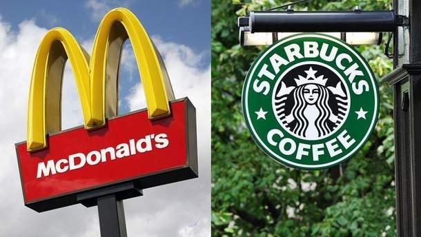 McDonald's та Starbucks оштрафували в Індії