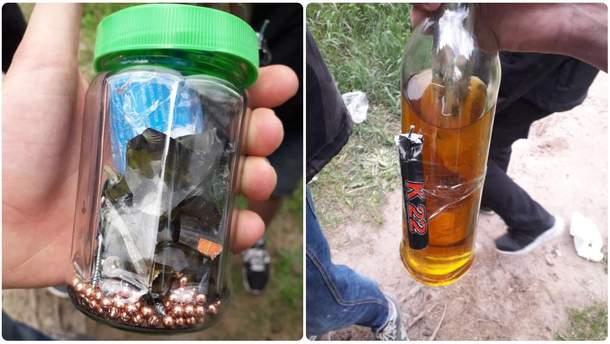 Радикали з вибухівкою та газом напали на табір ромів у Києві