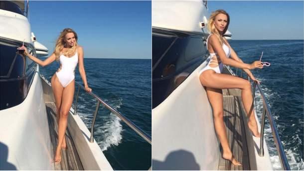 У длинных ног Оли Поляковой появился свой Instagram