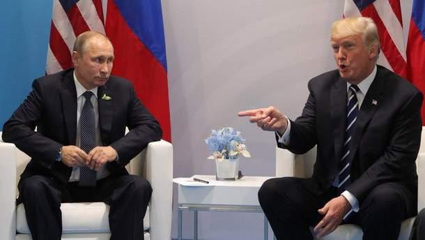 Трамп ведет с Путиным свою игру