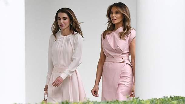 Меланія Трамп та королева Ранія