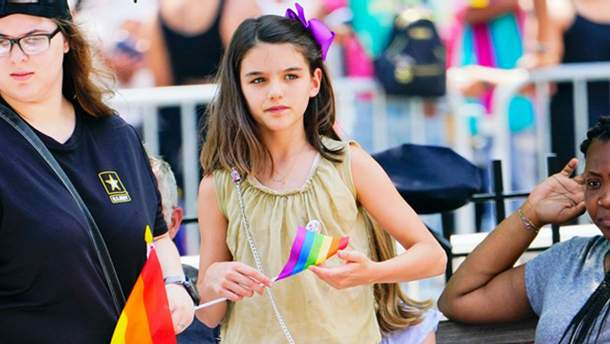 Сурі Круз на Pride Parade 2018